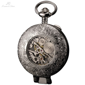 Steampunk Men Pocket Watch