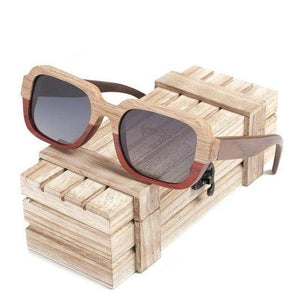 Handmade Polarized Wood Sunglasses