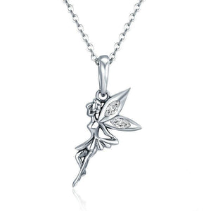 Sterling Silver Fairy Necklace