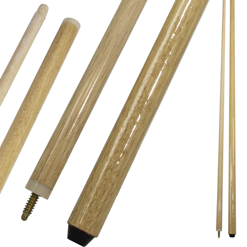 2 PIECE POOL BILLIARD BRIDGE STICK CUE 90″