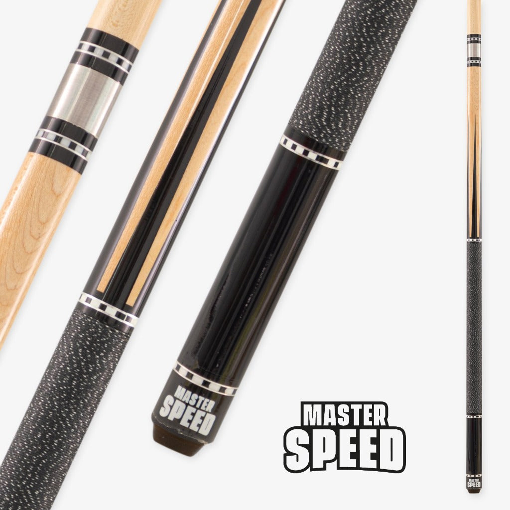 NEW MASTER SPEED 4 POINTS WITH INLAYS - BLACK