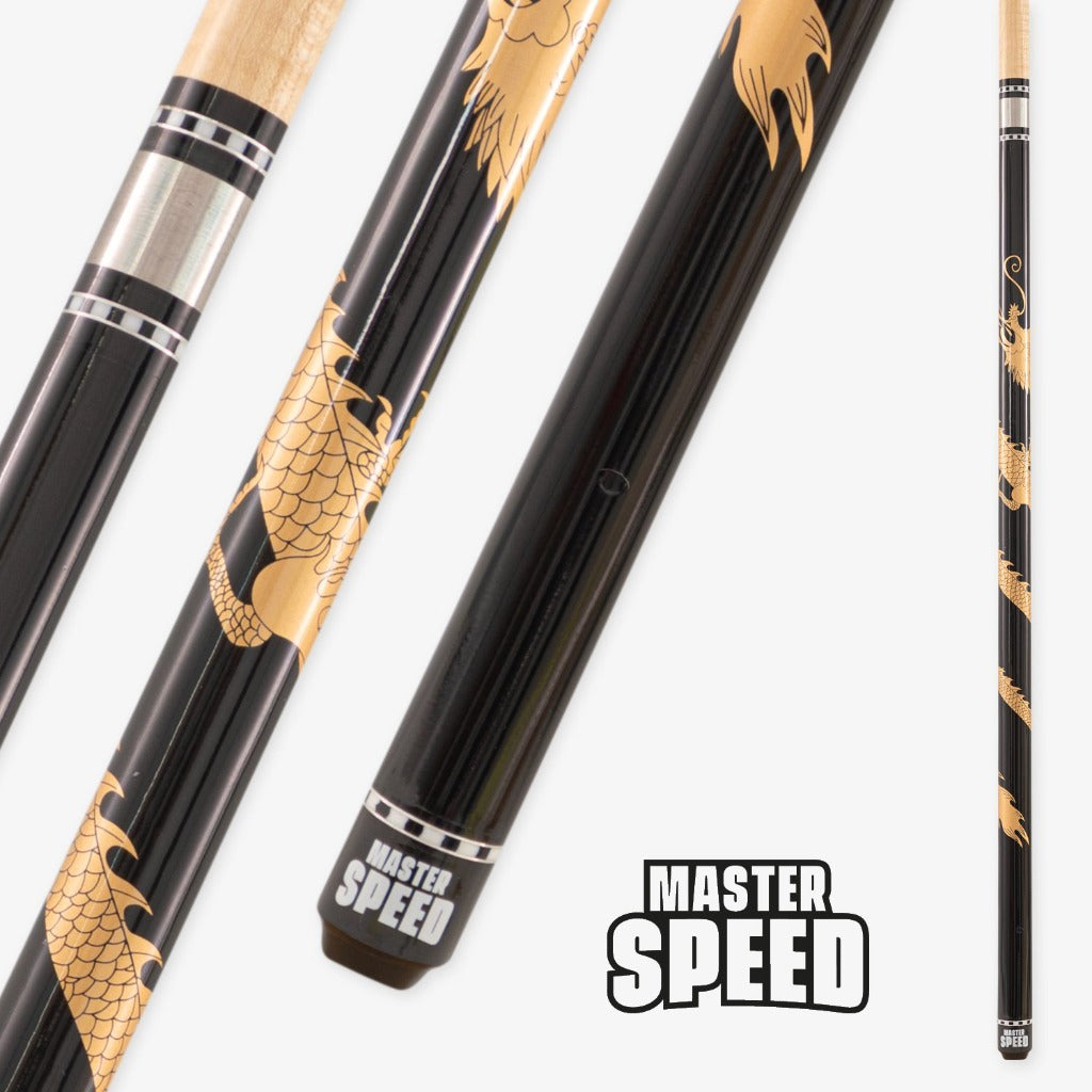 NEW MASTER SPEED DRAGON - BLACK/GOLD