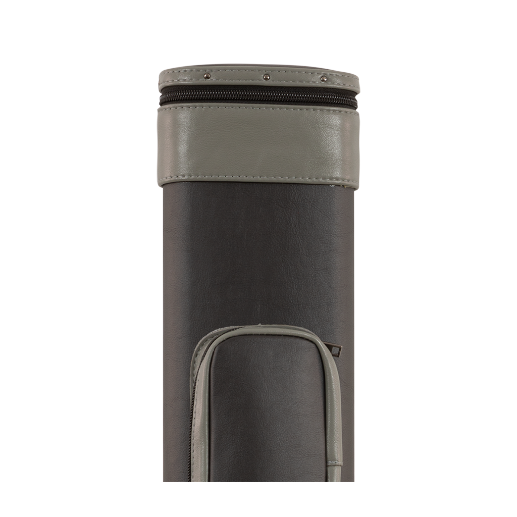 HARD CUE CASE BLACK/GREY 2B/4S
