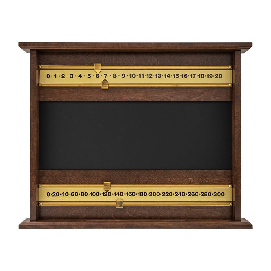 LARGE SCOREBOARD WITH BRASS RODS - WHITE BIRCH