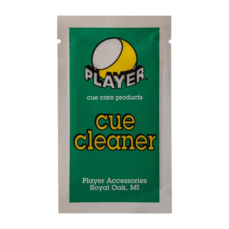 PLAYER CUE CLEANER (TOWELETTE)
