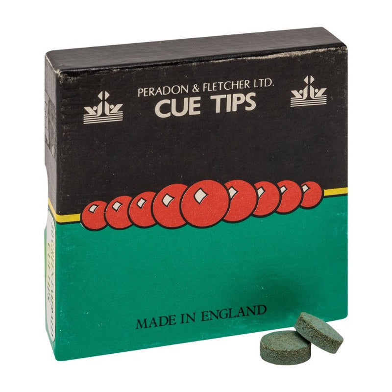 UK GREEN LEATHER TIP