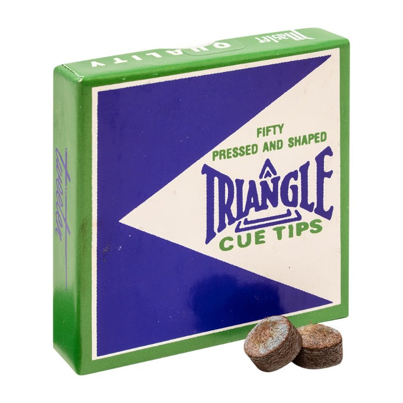 TRIANGLE LEATHER TIP