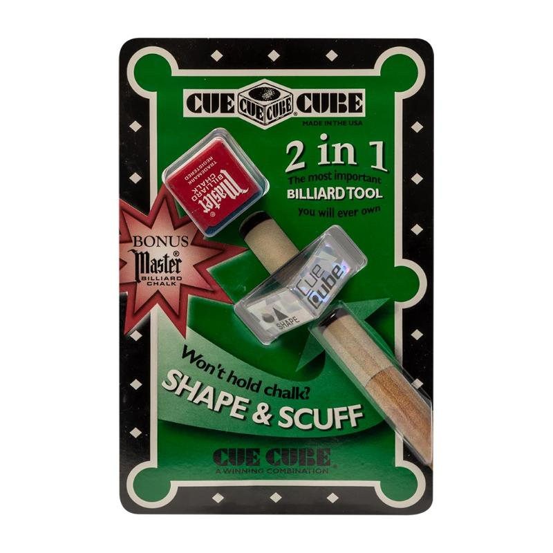 CUE CUBE 2 IN 1 SHAPE AND SCUFF