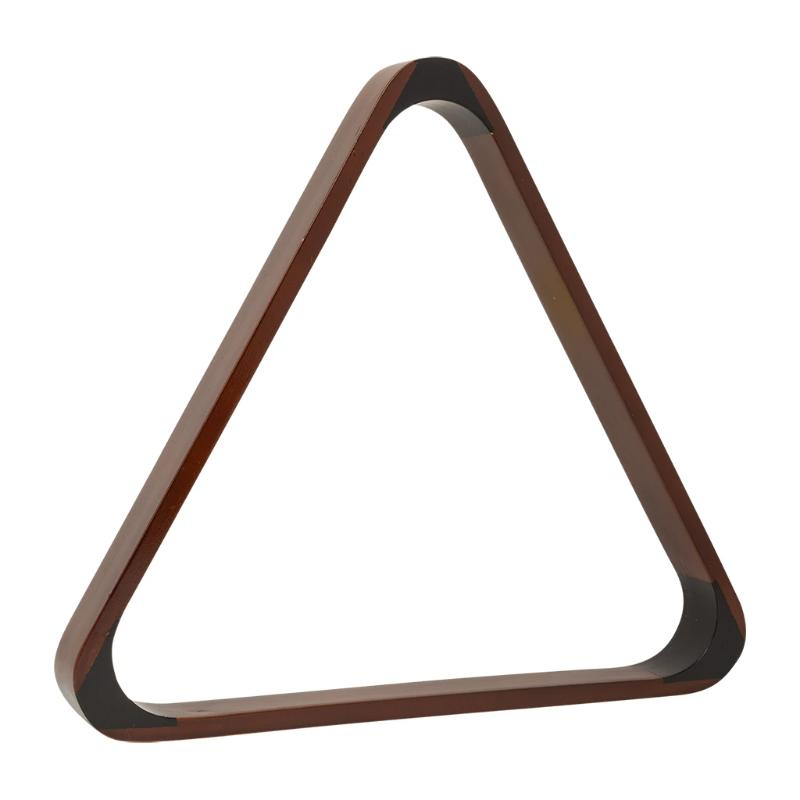 MAHOGANY TRIANGLE 2 1/4