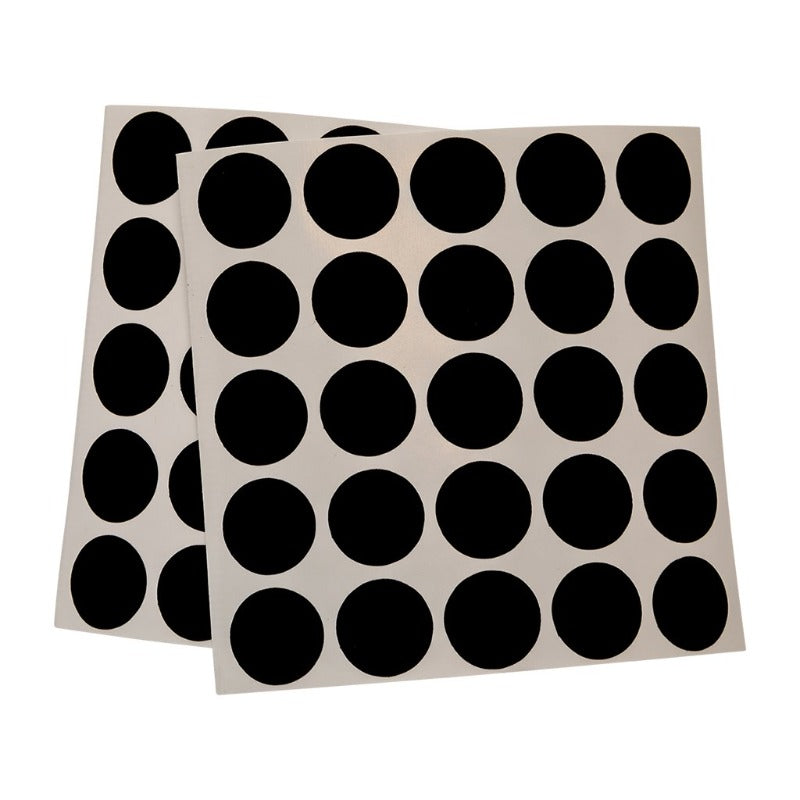 SMALL BLACK SPOTS 15MM (50)