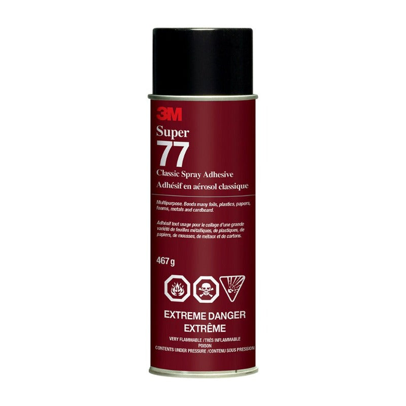 3M SUPER 77 ADHESIVE SPRAY 16.5OZ