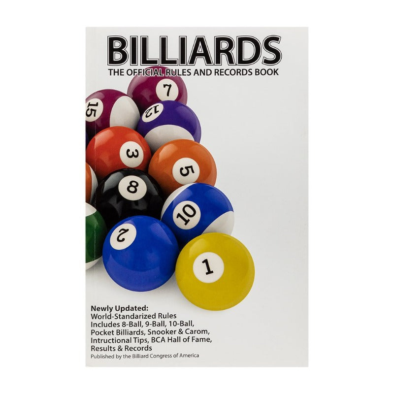 BCA - BILLIARDS OFFICIAL RULES