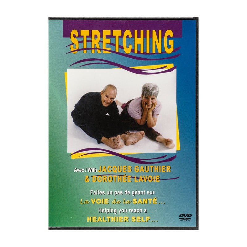 DVD STRETCHING EXERCISES   BY J.GAUTHIER & D. LAVOIE