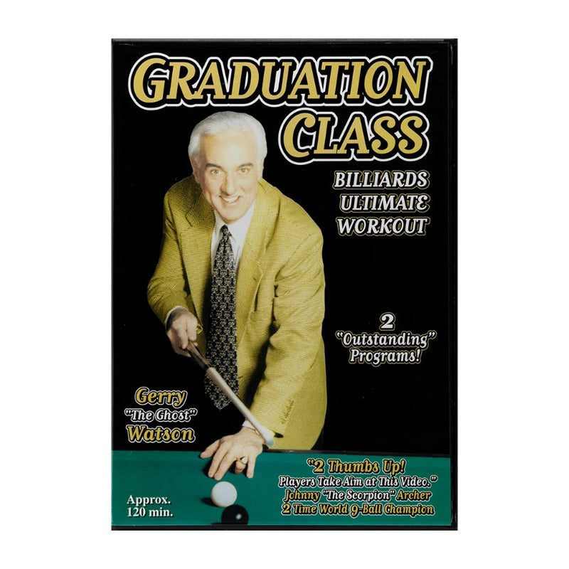 GRADUATION CLASS, 101 BIG POOL  SHOTS DVD - GERRY WATSON