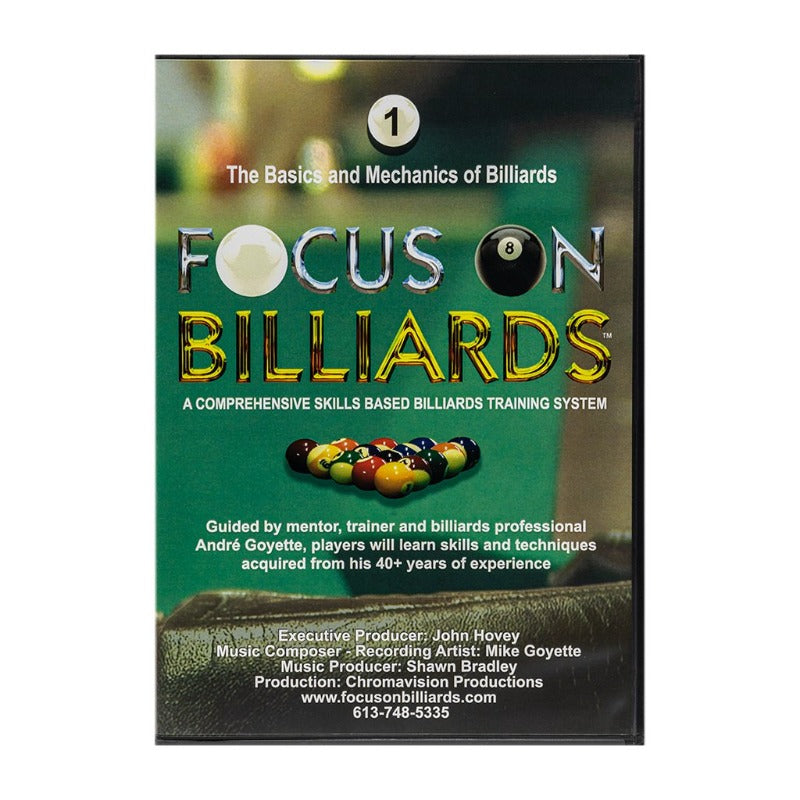 FOCUS ON BILLIARDS DVD  TRAINING SERIES