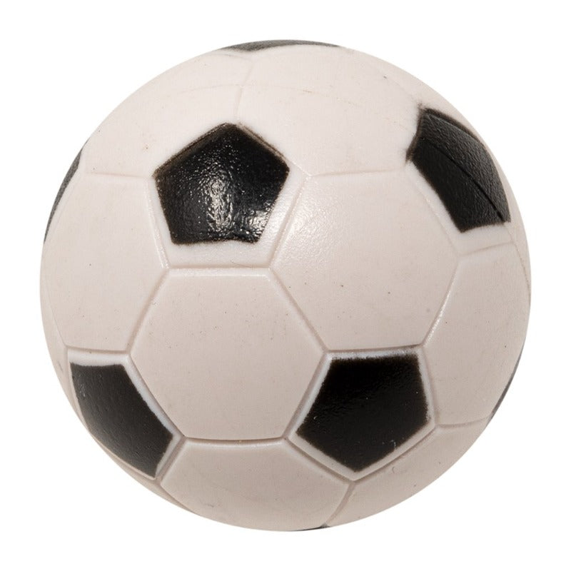 BLACK AND WHITE SOCCER BALL 35MM - UNIT