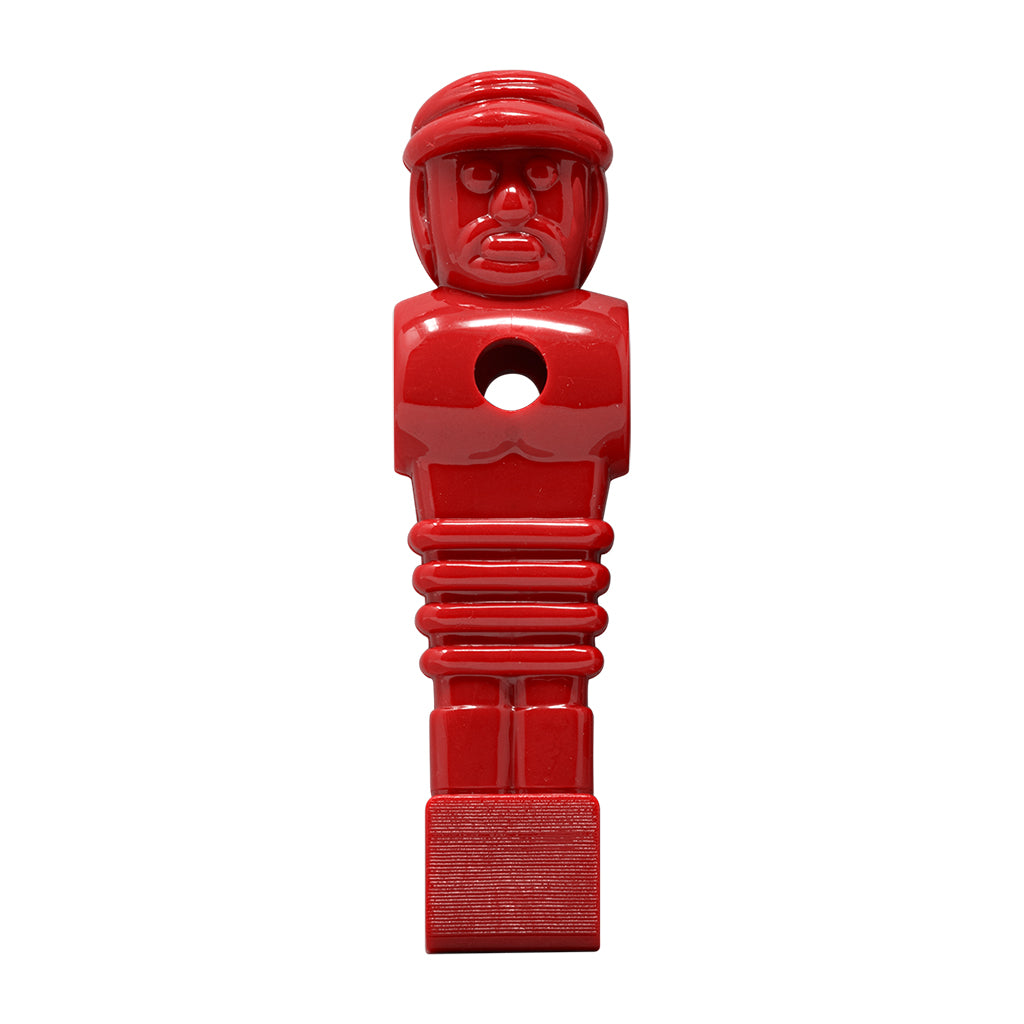 SOLID RED SOCCER MAN HOLE 16MM 5/8