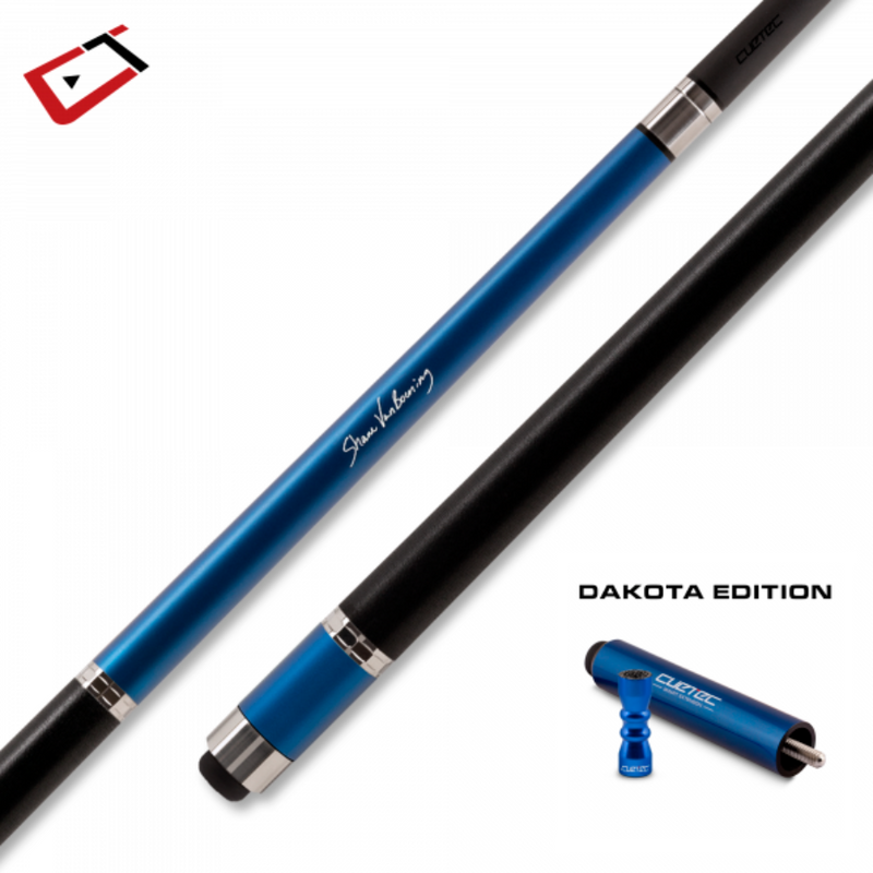 CUETEC CYNERGY SVB GEN ONE CUE - DAKOTA EDITION - SAPPHIRE BLUE
