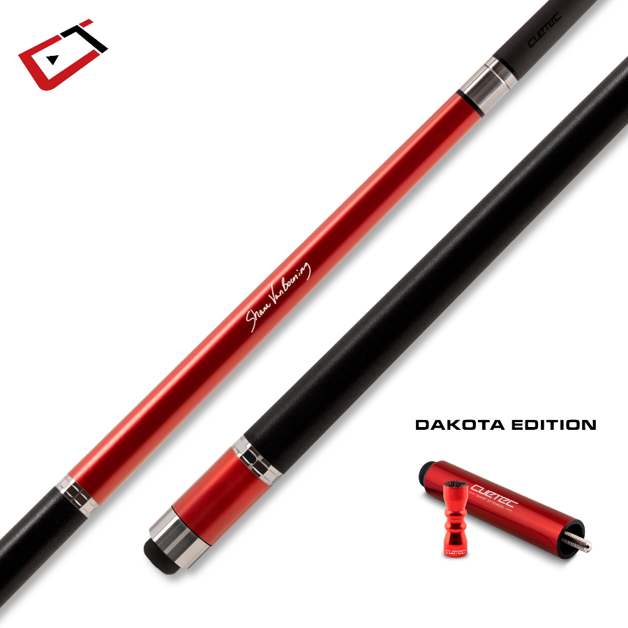 CUETEC CYNERGY SVB GEN ONE CUE - DAKOTA EDITION - RUBY RED