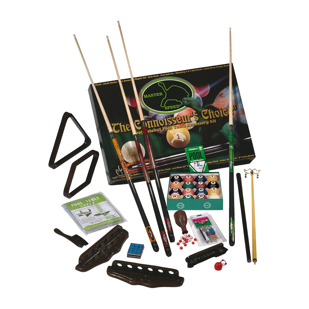 MASTER SPEED 4 CUES ACCESSORY KIT - CHOCOLATE