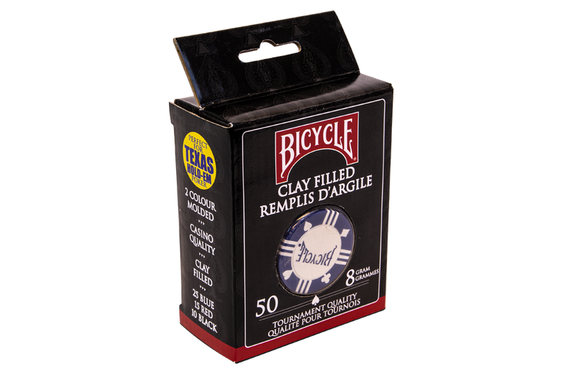 BICYCLE TOURNAMENT QUALITY POKER CHIPS 50