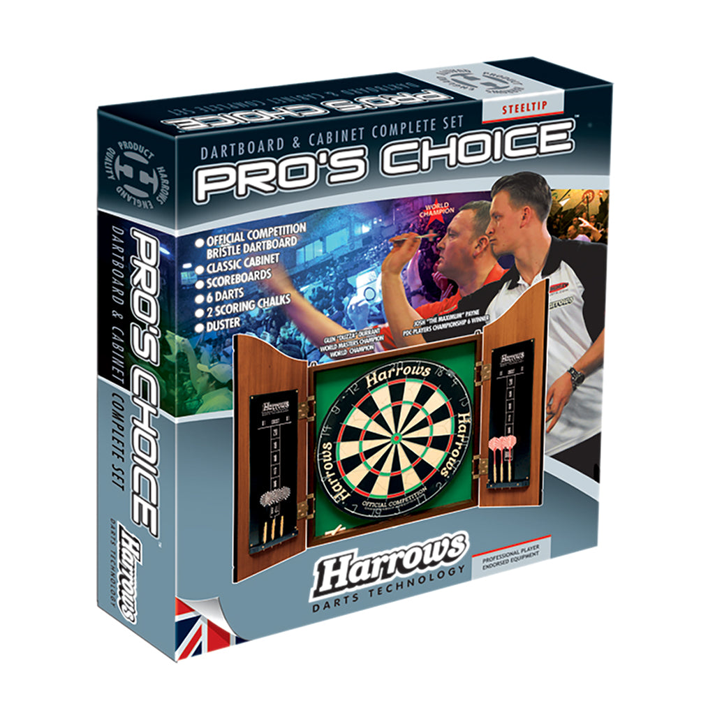 HARROWS PRO'S CHOICE DARTBOARD SET