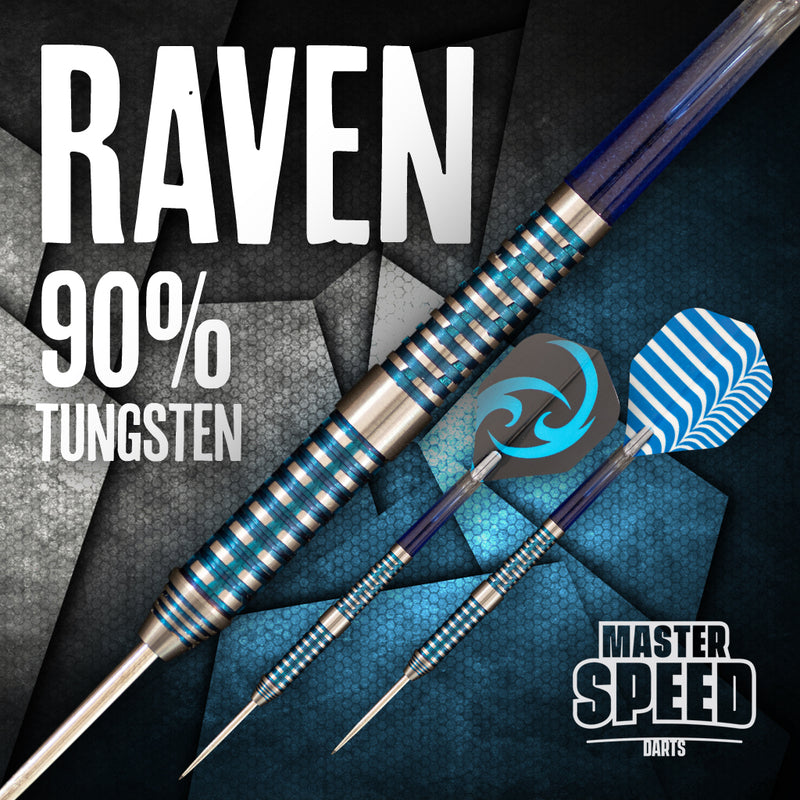 MASTER SPEED RAVEN 90% TUNGSTEN STEEL TIP
