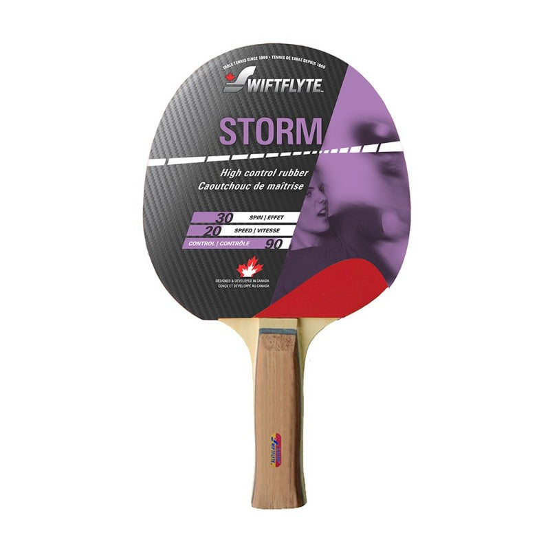 SWIFTFLYTE STORM PING PONG RACKET