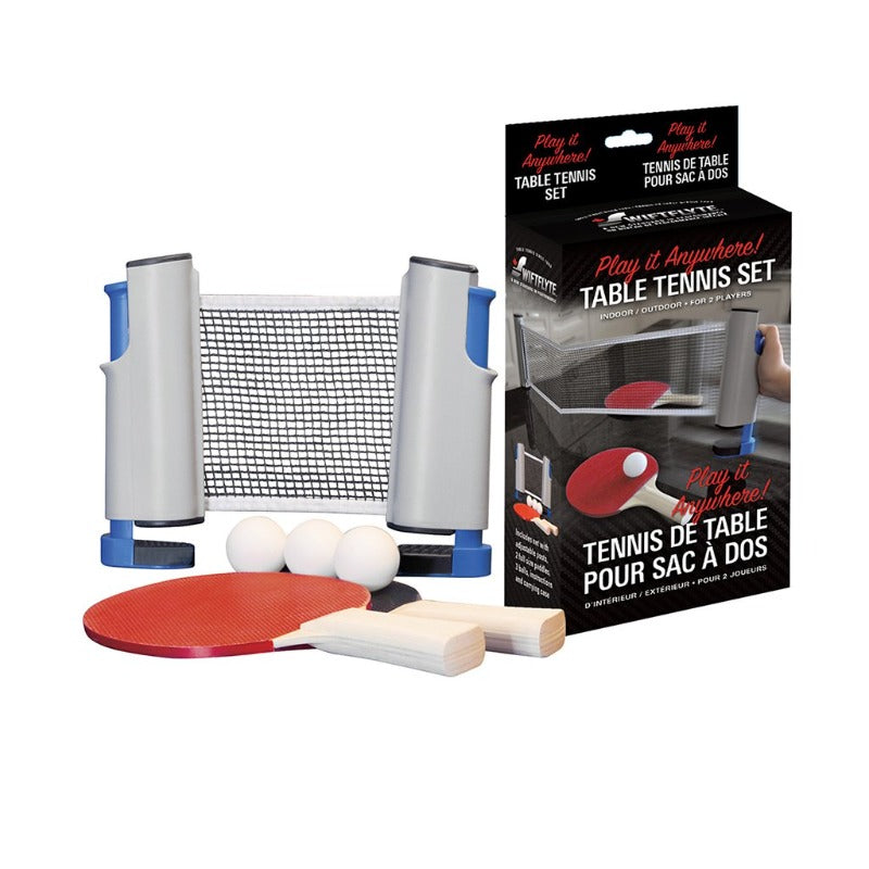 SWIFTFLYTE PLAY ANYWHERE PING PONG SET