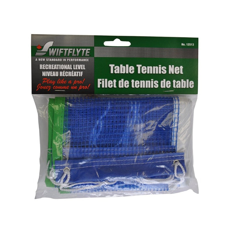 SWIFTFLYTE TIE-ON RECREATIONAL LEVEL REPLACEMENT PING PONG NET