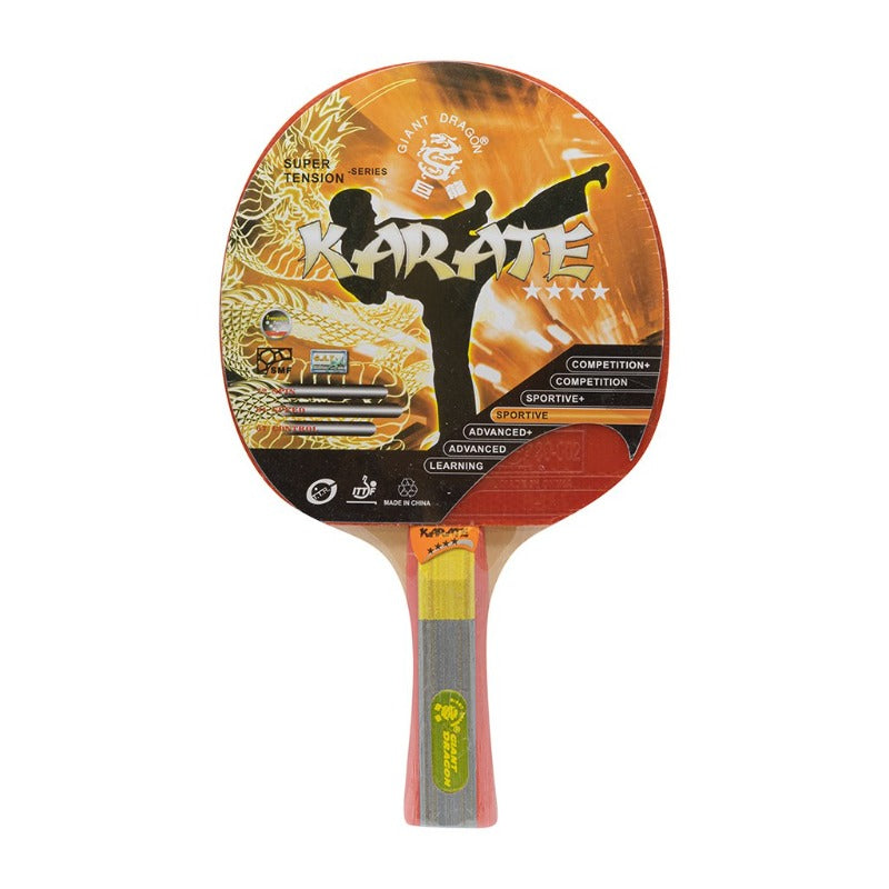 GIANT DRAGON KARATE SUPER TENSION SPORTIVE PING PONG RACKET