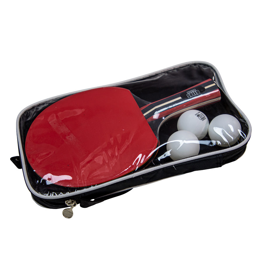 KIT OF 2 RACKETS 4-STAR - 3 BALLS AND 1 BAG MASTER SPEED