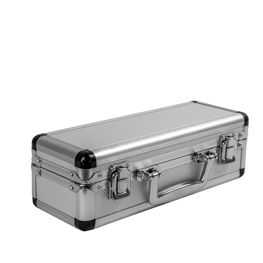 ALUMINUM CASE FOR 3 BOCCE (PETANQUE) BALLS