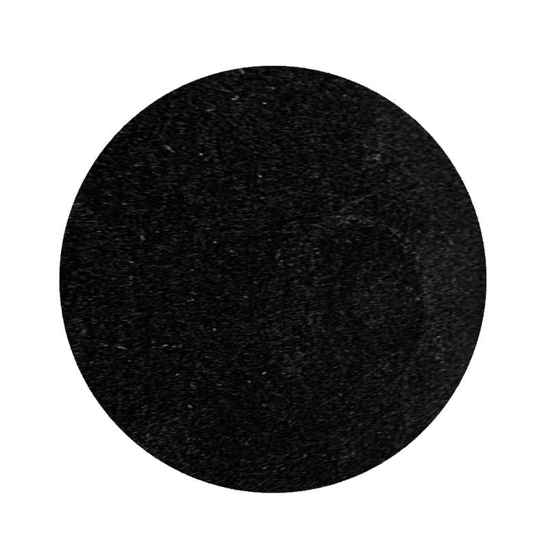 BLACK FELT DISC FOR GOALIE 3 3/8