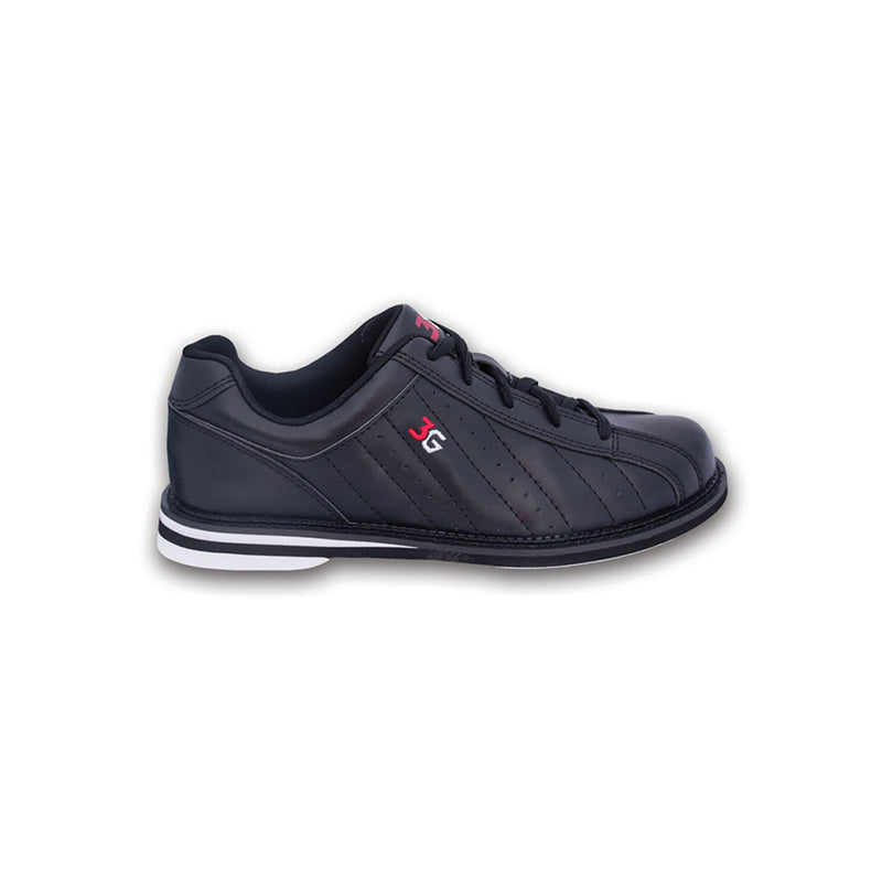 3G KICKS UNISEX SHOES - BLACK