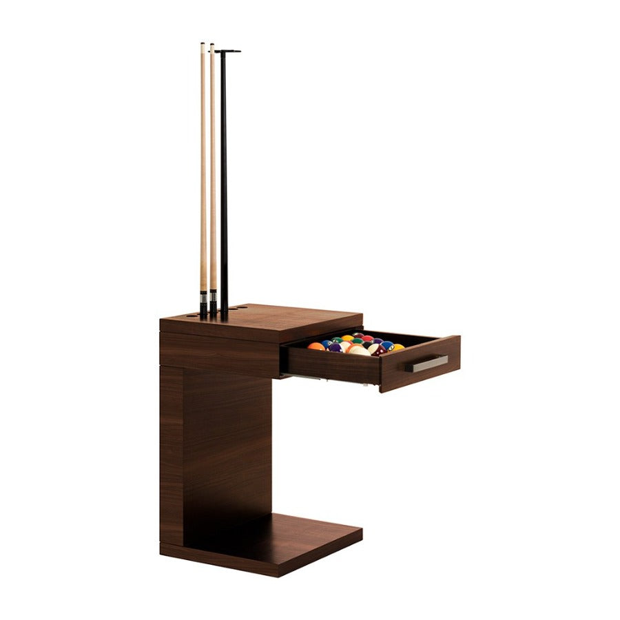 LA CONDO CUE RACK & BALL RACK - WALNUT