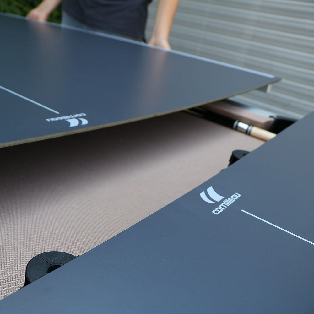 CORNILLEAU TURN2PING OUTDOOR PING PONG CONVERSION TOP - GREY