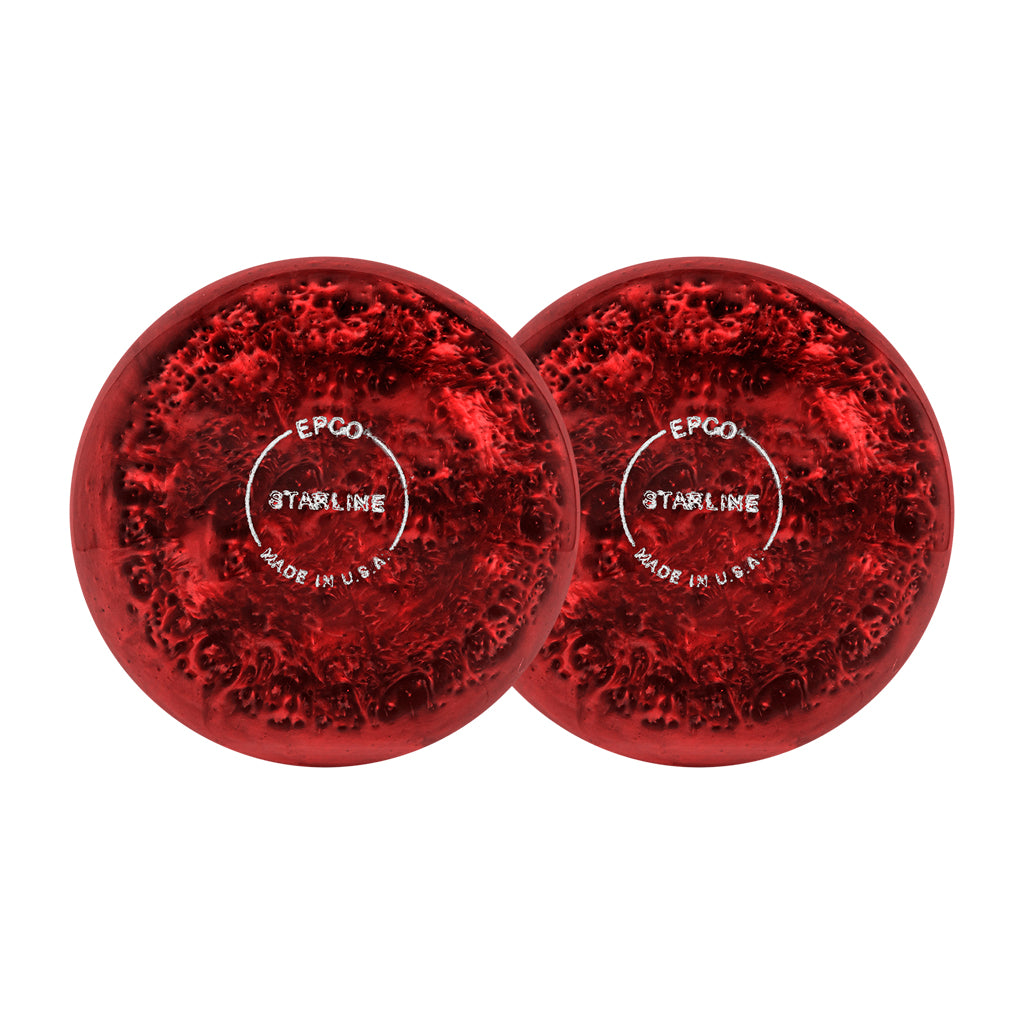 STARLINE SMALL BALLS - ORANGE/RED PEARL