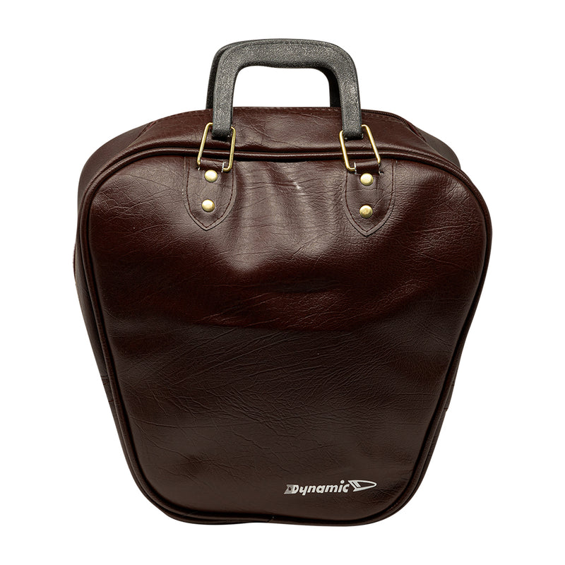 1 BALL VINYL BAG - BROWN