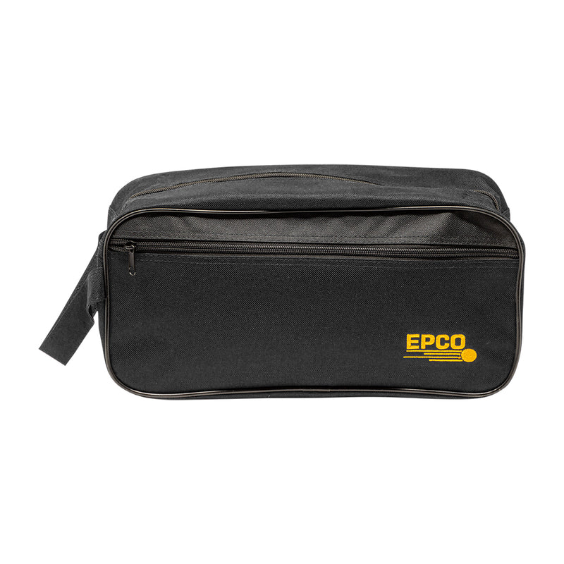 EPCO NYLON SHOES BAG - BLACK