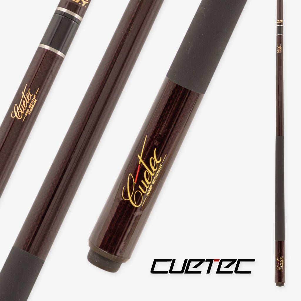 CUETEC ASSAULT BUTT AND SHAFT GRAPHITE - BURGUNDY