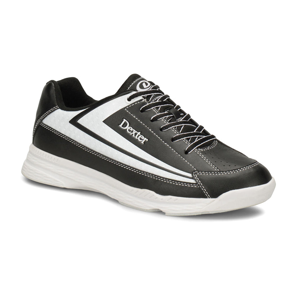 DEXTER JACK II MEN SHOES - BLACK/WHITE