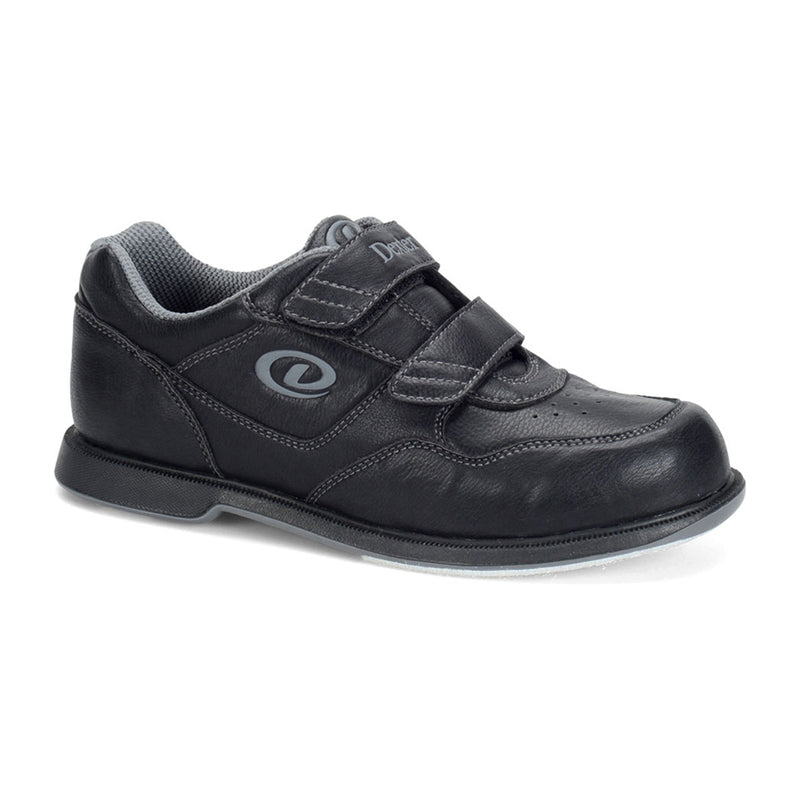 DEXTER V-STRAP UNISEX SHOES - BLACK
