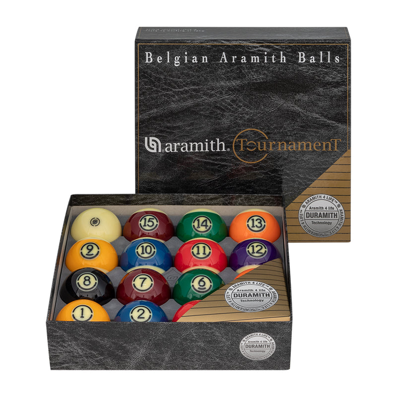 ARAMITH TOURNAMENT POOL BALL SET WITH DURAMITH™ TECHNOLOGY