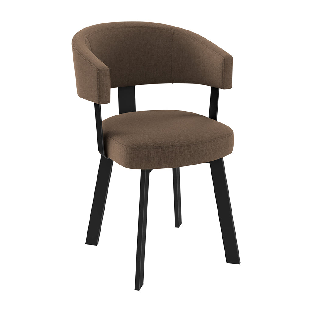 EURO FABRIC/LEATHER CHAIR