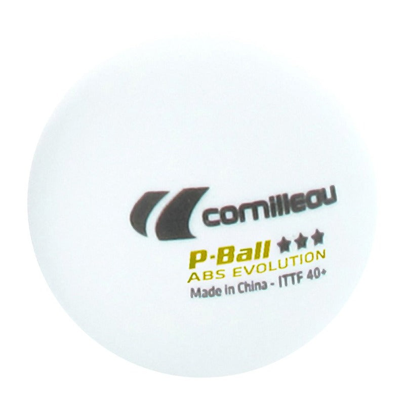 CORNILLEAU P-BALL ABS EVOLUTION 3-STAR ITTF X3 BALLS