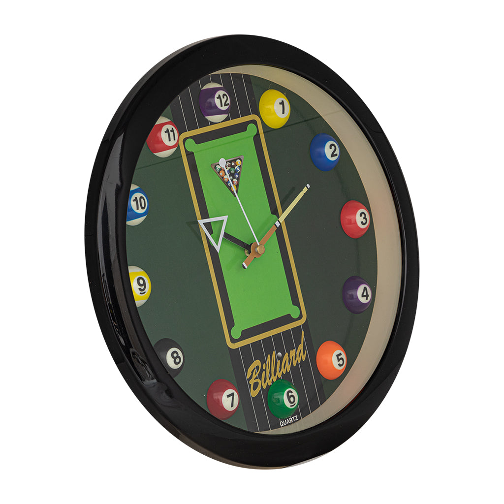 BILLIARD CLOCK TABLE 11'' DIAMETER