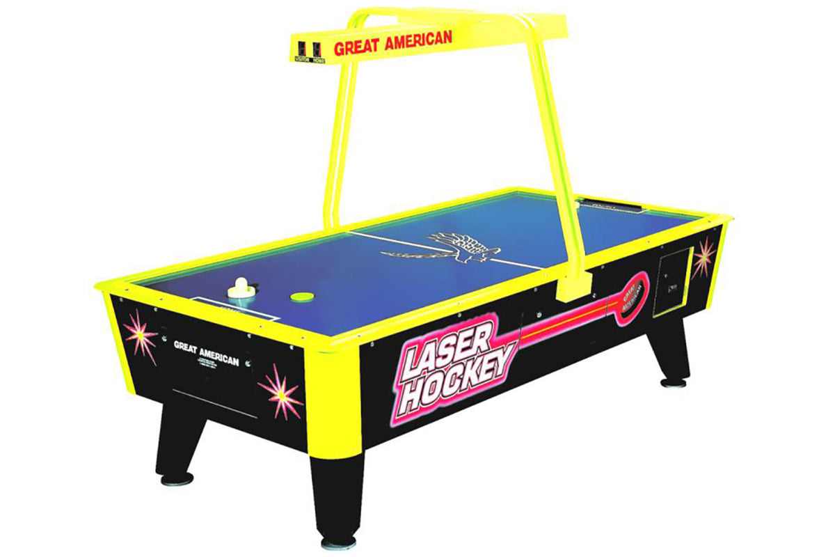 GREAT AMERICAN LASER AIR HOCKEY