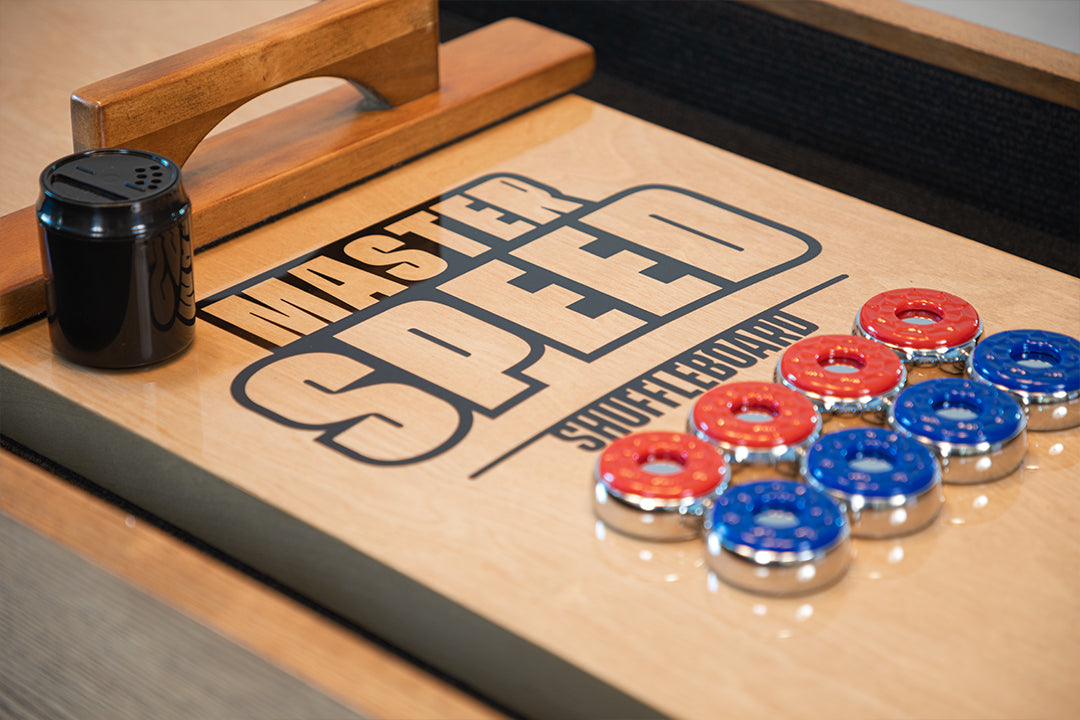 MASTER SPEED SHUFFLEBOARD METAL