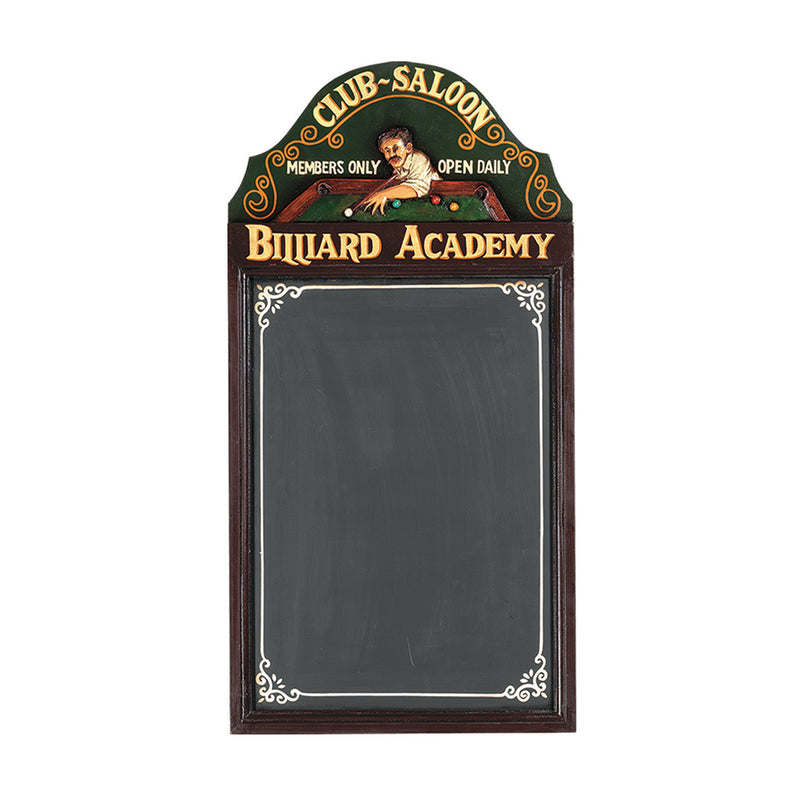 PUB SIGN-BILLIARD ACADEMY